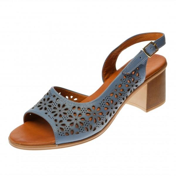 Босоножки на устойчивом каблуке Ripka