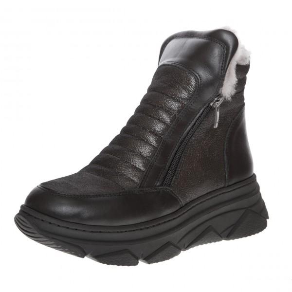 Ботинки с двумя змейками Phany