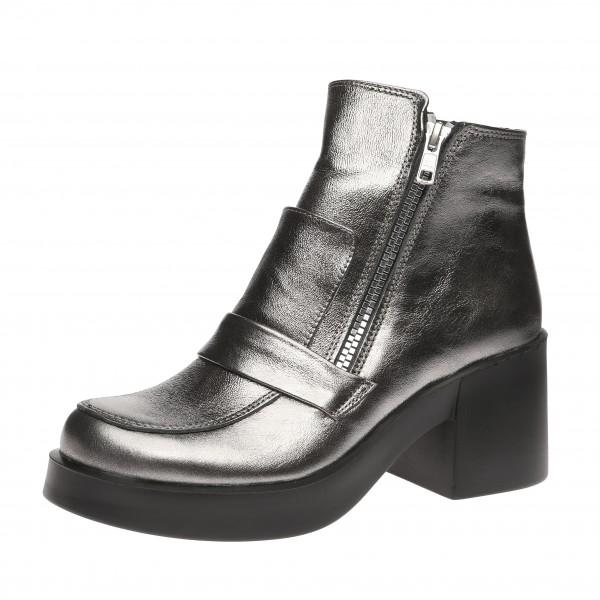 Ботинки на устойчивом каблуке Evromoda