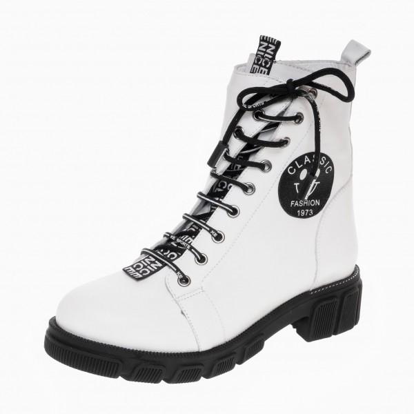 Ботинки со шнурком Magnolya