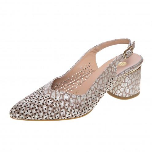 Босоножки на удобном каблуке Magnolya