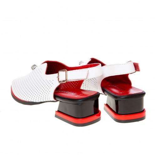 Босоножки на удобном каблуке Evromoda