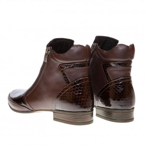 Ботинки с двумя змейками Evromoda