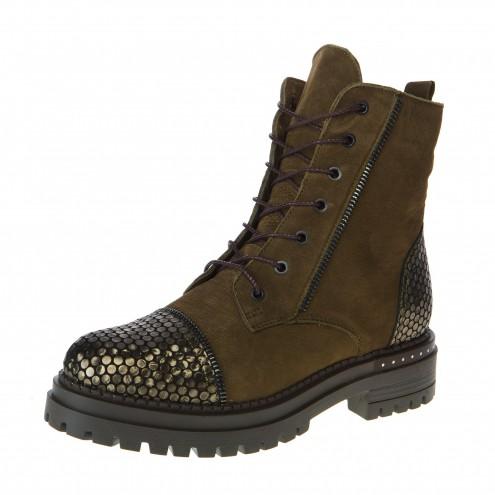 Ботинки со шнурком Pemla