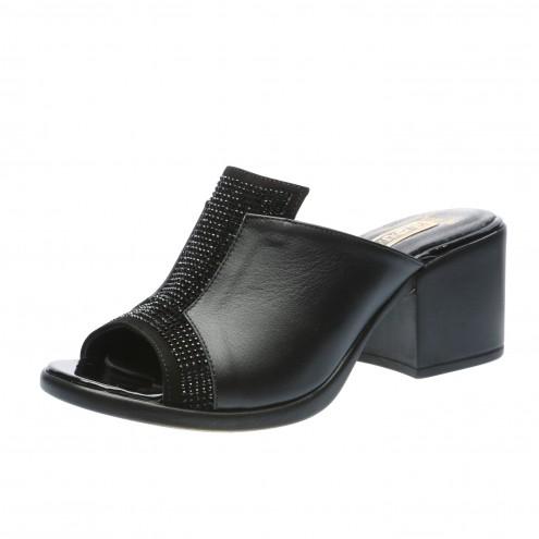 Шлёпанцы на удобном каблуке Guero