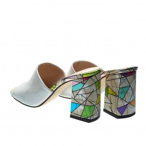 Шлёпанцы на устойчивом каблуке Guero