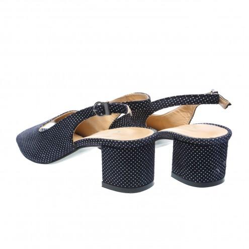 Босоножки на устойчивом каблуке Dejavu