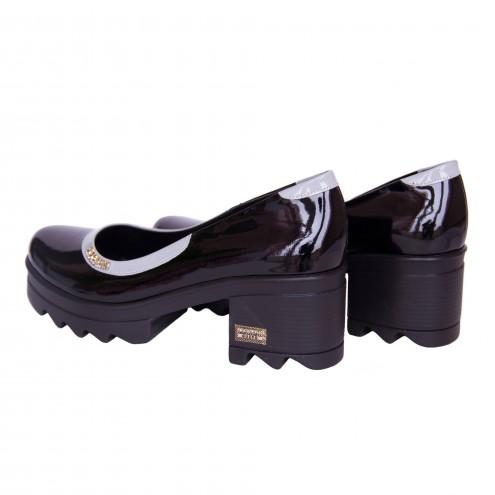 Туфли на удобном каблуке Guero