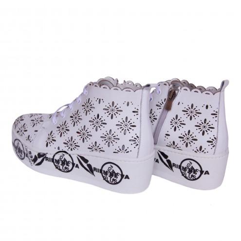 Ботинки перфорированные Phany