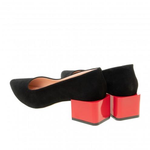 Туфли на удобном каблуке Evromoda